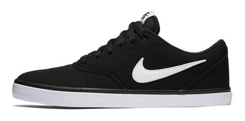 Tenis Nike Sb Check Solar Negro Hombre 843896 001 en