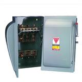 Interruptor 3x100 Amperes De Cuchillas Royer Con 3 Fusibles