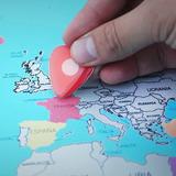 Mapa Mundial Para Rascar Gigante
