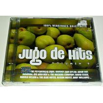 Cd Jugo De Hits Vol 9 / Varios Pop 80s En Ingles Cd Nuevo