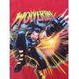 Playera Manga Larga Roja Vintage - Wolverine - Talla Xg/40