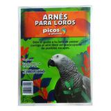 Arnés (pechera) Para Loros Medianos Y Grandes Picos Y Plumas, El De Mayor Venta Por Su Diseño, Calidad Y Seguridad