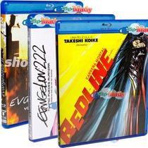 Paq. Especial Evangelion 1.11, 2.22 Y Redline En Blu-ray