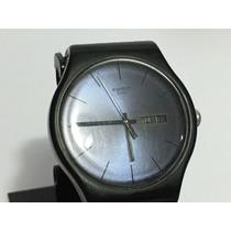Reloj Swatch #28 Color Negro Edición 2010 Usado Fechador Día