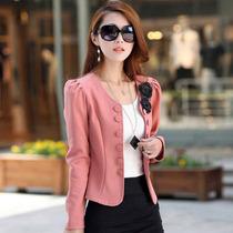 Blazer O Saco Casual Para Dama Rosa Pastel