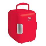Mini Refrigerador Rca Rc-4r Frigobar Portati Enfría Calienta