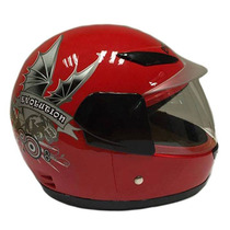 Casco Moto Infantil Evolution New Type Rojo
