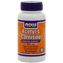 Empresa 500mg Alimentos Acetil L-carnitina 50 Cápsulas