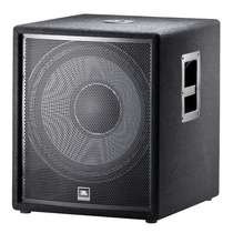 Subwoofer Jbl Jrx218s 350w Rms Altavoz 18in Meses S/interes