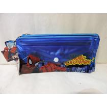 Spiderman Recuerdos Fiestas 10 Lapiceras Premios Bolos