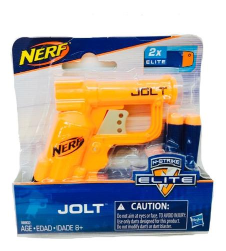Nerf Elite Pistola Jolt 2 Dardos Hasbro