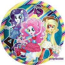 Fiesta Equestria Girls (de Little Pony). Platos, Vasos Y Más