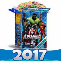 Avengers Mega Kit Imprimible Los Vengadores 100% Editable