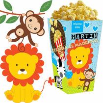 Kit Imprimible Animalitos Selva Nene Candy Bar Golosinas
