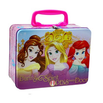 Lonchera Metalica Princesas Disney Dulcero Fiesta