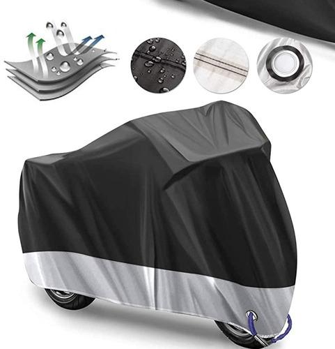 Bolsa Impermeable Para Moto/ Funda De Motocicleta Talla Xl