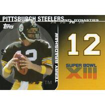 2008 Topps Dynasties Terry Bradshaw Pittsburgh Steelers