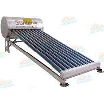 Calentador Solar 10 Tubos Sin Subir Tinaco. Acero Inoxidable