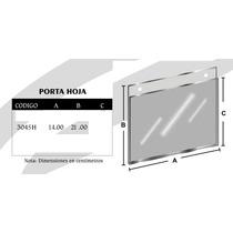 Porta Hoja Media Carta Horizontal 14 X 21.5 Cm Mod3045