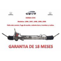 Caja Direccion Mecanica Cremallera Honda Civic 1997