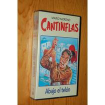 Vhs Pelicula Cantinflas Abajo El Telon (original, Sellado)