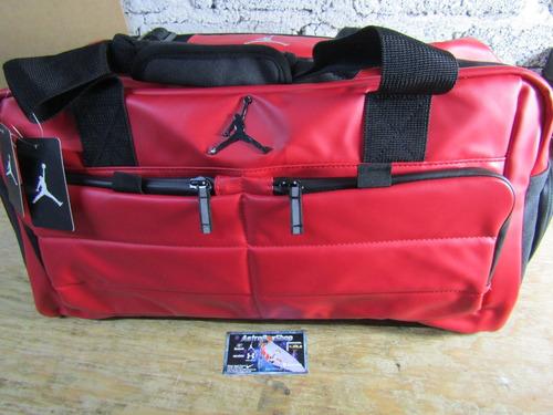 65761f262d34f Maleta Jordan Duffle All World Gym Red Bright Ropa Y Tenis
