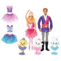 Barbie En El Zapatos Rosados ¿¿pequeño Doll Giftset Carácter