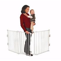 Reja Puerta De Seguridad Para Bebe O Mascota Extra Ancha 190