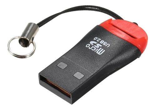 Adaptador Lector Memoria Micro Sd A Usb 2.0 Sdhc Pc