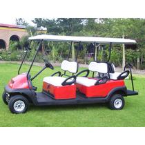 Carro De Golf /carrito Electrico Multiusos De 6 Pasajeros