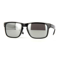 Oakley Holbrook Black Ink - Chrome Iridium Polarized 9102-68
