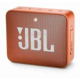 Bocina Jbl Go Go 2 Portátil Inalámbrico Coral Orange