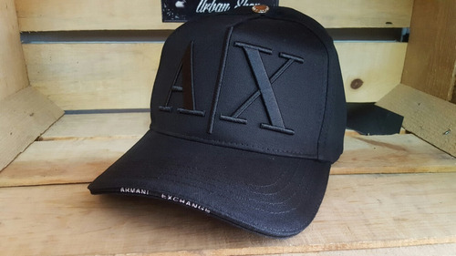 Gorra Armani Exchange Negra en venta en San Nicolás De Los Garza ... 67c944f9f26