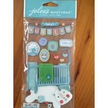 Etiquetas, Stickers Scrapbook, Habitación Para Bebé Niño