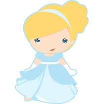 Kit Imprimible Princesa Cenicienta Baby Tarjetas Y Mas #1