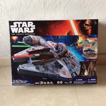 Halcón Milenario Star Wars The Forcé Awakens Hasbro Disney