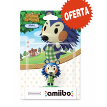Amiibo Mabel Animal Crossing Nuevo Nintendo Wii U / 3ds