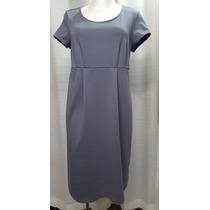 Vestido De Maternidad T.30/32, Gris, Stretch, Liz Lange