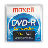 Dvd-r Mini Maxell En Estuche 30min 1.4gb 4x Grabable