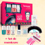 Kit Esmalte Lacquer Frida Khalo 21 Dias+lampara Led Y Regalo<br><strong class='ch-price reputation-tooltip-price'>$ 950<sup>00</sup></strong>