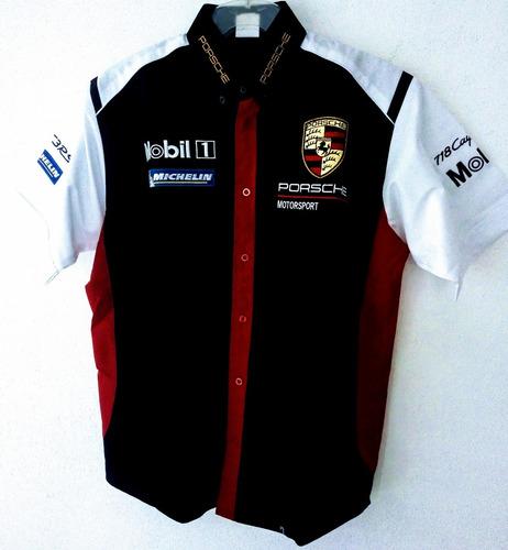 Camisa Scuderia Porsche Nascar F1 Rally Racing Caballero b0c89a8bc98
