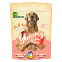 Premios Vitaminados Perro Naturance Yummy Carne 100gr