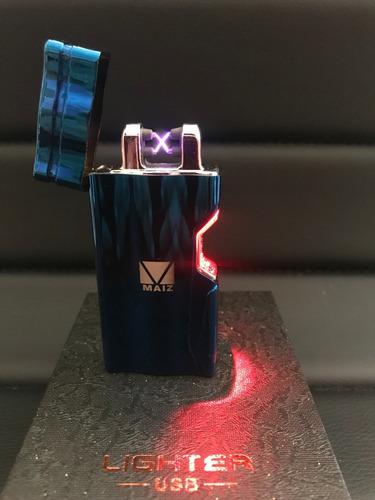Encendedor Eléctrico Plasma Infrarrojo Recargable Arco Doble