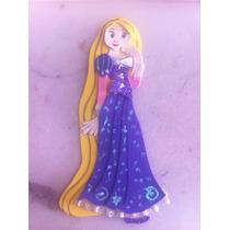 Figura De Foamy Fomi Rapunzel 22 Cms Lote 12 Piezas