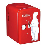 Mini Enfriador Mini Refri Frigobar Coca - Cola Para 6 Latas