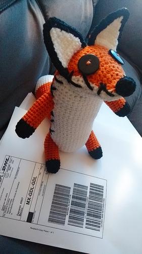 Amigurumi Crochet Fox Free Pattern-Patron Zorro Oso Chango ... | 500x281