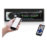 Reproductor Mp3 De Auto Con Bluetooth Auxiliar Inalámbrico