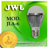 Jwj Foco De Led 6w Base E27 Luz Blanca 6500 Kº