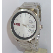 Reloj Hombre Diesel Sumergible Barato Excelente Plata Regalo