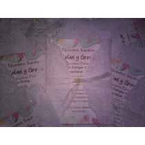 Invitaciones Vintage Bautizo,comunion,boda,baby,3 Años